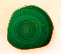 Malachite - rare Concentric Circles